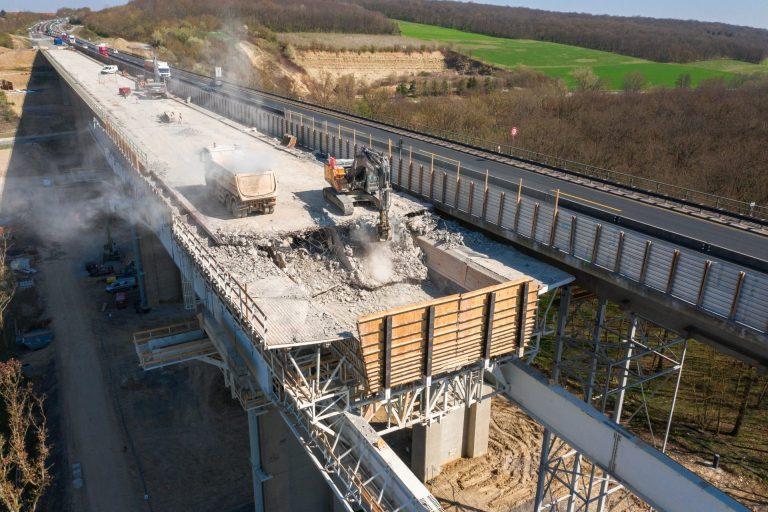 Baudokumentationen Brückenabriss