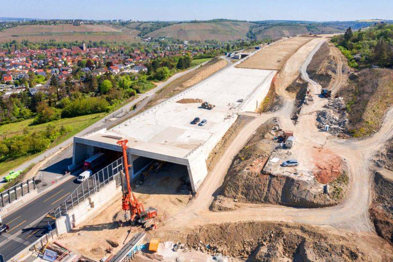 Baudokumentationen Tunnelbau Heidingsfeld