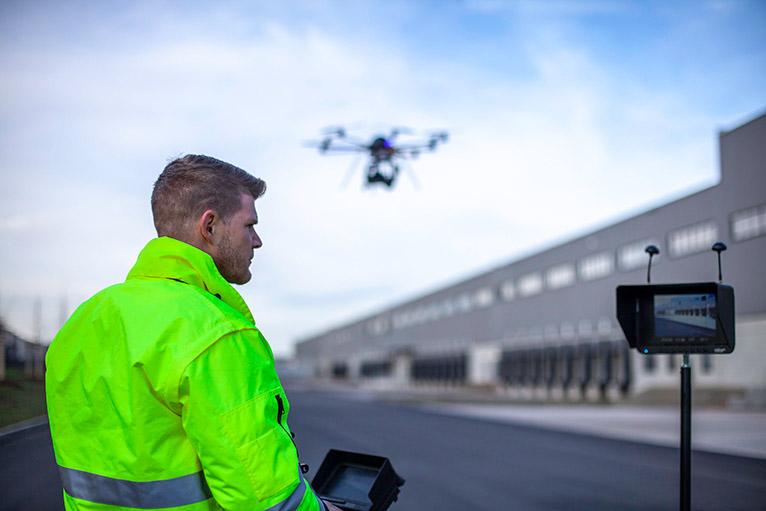 Fotoservice Drohne